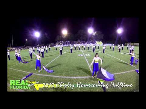 Chipley High School Marching Band at 2015 CHS Homecoming Halftime