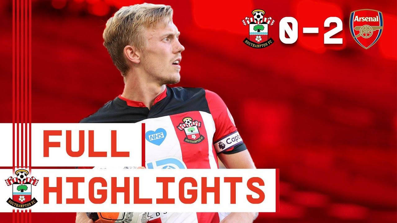 HIGHLIGHTS: Southampton 0-2 Arsenal   Premier League