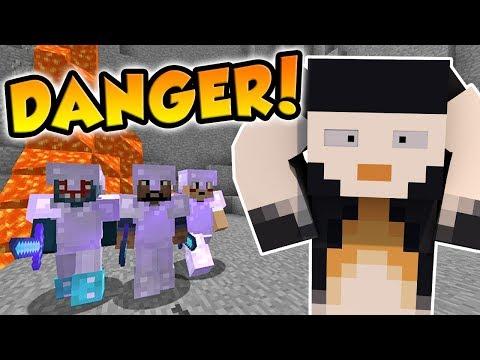 Minecraft   FRIEND OR FOE?   EVERYONE TRIES TO KILL ME! (18)