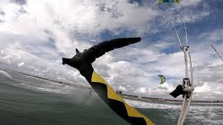 Kitesurfing weekend in the Black sea