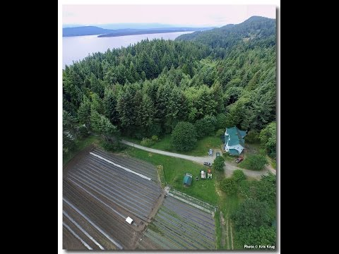 Planting Local Food Crops ~ Canadian Gulf Islands ~ 2015