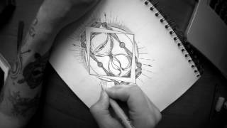 How To Draw HourGlass - Pencil Drawing