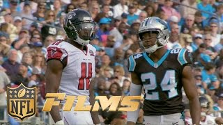 Josh Norman Mic'd Up Vs. Julio Jones Week 14 | Inside The Nfl: Falcons Vs. Panthers Highlights