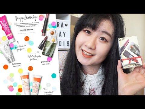 丝芙兰2018生日礼物抢先看!| Sephora 2018 Birthday Gifts