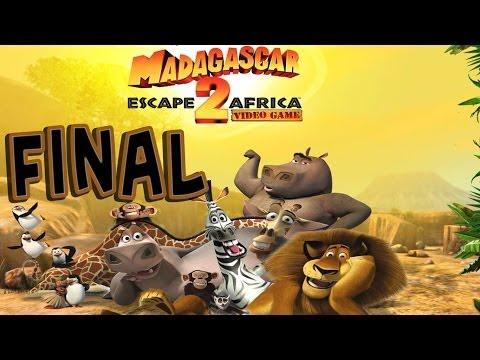 Madagascar: Escape 2 Africa - Walkthrough - Final Part 14 - Dam Busters | Ending (PC) [HD]