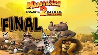 Madagascar: Escape 2 Africa - Walkthrough - Final Part 14 - Dam Busters | Ending (PC) [HD]