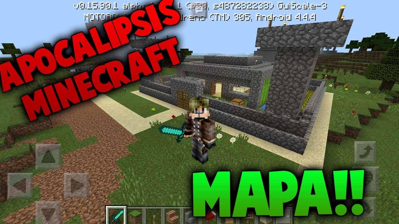 mapa de apocalipsis minecraft 3 descargar juegos