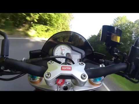 "Aprilia Tuono vs RSV RF ""Ride it like you stole it"""