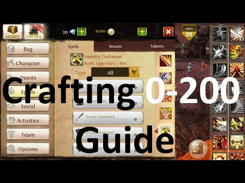 Order And Chaos Online - Crafting 0-200 Guide | Disax