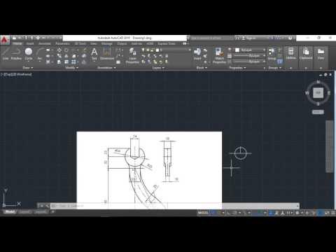 Diseño 3D en Autocad con Maquinado CNC en CamBam y CamOtics - YouTube