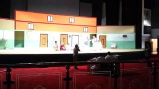 مسرحية بسنا فلوس طارق العلي في ابها و فلة الجمهور