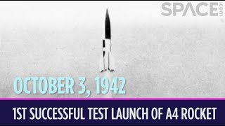 OTD in Space - Oct. 3: 1st Successful Test Launch of the German A4 Rocket (V-2)