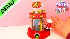 Automat für leckere und eklige Bohnen | Mr. Jelly Belly | 28 Jelly Beans Geschmackrichtungen | Demo