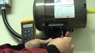 Électricité - Vérification d'un moteur triphasé (sans tension)