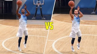 Who Can Hit A Half Court Shot First On The Warriors? NBA Live 18 Gameplay!
