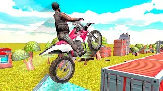 Real Crazy Stunt Bike Race: Stunt Bike Racing - Gameplay Android free games
