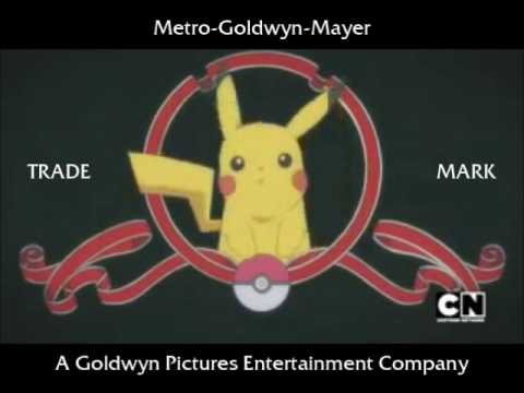 Metro-Goldwyn-Mayer logo (Pikachu's edition)