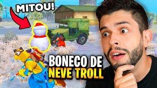 MUITO BIZARRO?!? O NOVO BONECO DE NEVE FEZ ALGO INACREDITÁVEL NO FREE FIRE!!! thumbnail