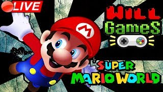 ???? LIVE SUPER MARIO WORLD - NOSTALGIA TOTAL - SUPER NINTENDO - WILL GAMES ????