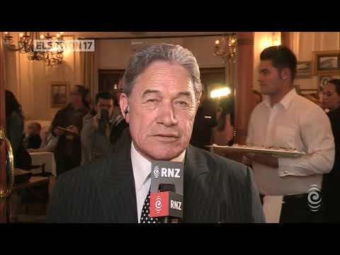 John Campbell and Winston Peters