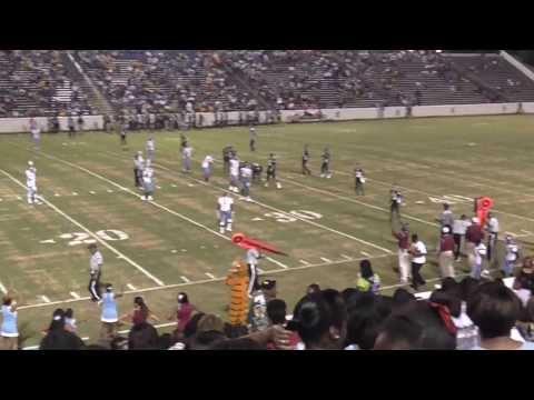 Spencer Greenwave vs Carver Tigers 2013 Columbus, GA High School Football