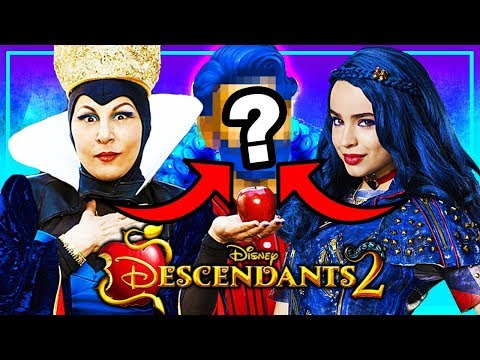 WHO IS EVIE'S FATHER? | Disney Descendants 2 | Sims 4 Random Genetics Challenge!