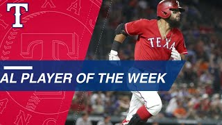 Rougned Odor Named American League Player Of The Week