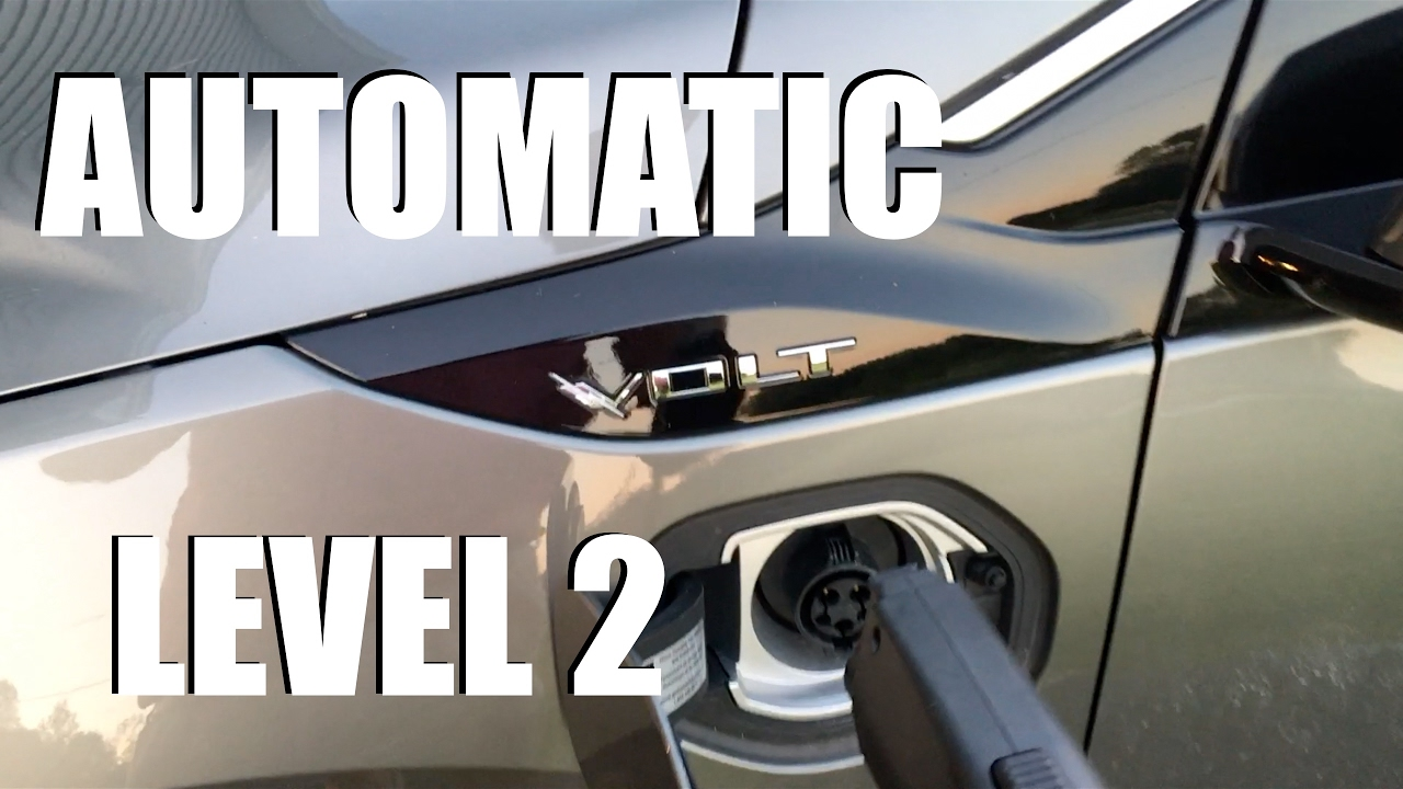 hight resolution of 2016 2018 chevy volt hidden level 2 charger 120 240 charging