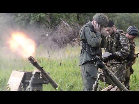 Марьинка. Ранение бойца