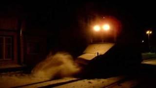Sniega tīrīšanas tramvajs Liepājā