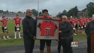 Jordan McNair's High School Retires His Jersey, Honors His Legacy