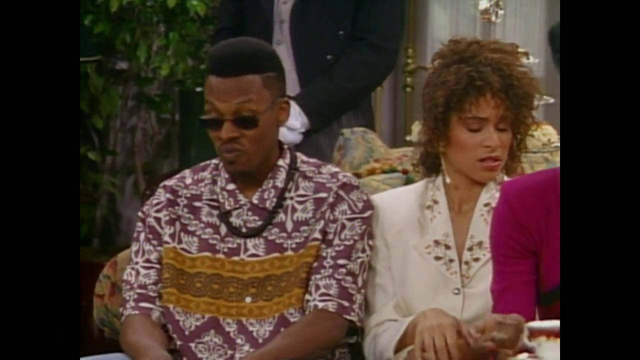 fresh prince of bel air s1 e3 jazz disrupts afternoon tea. Black Bedroom Furniture Sets. Home Design Ideas