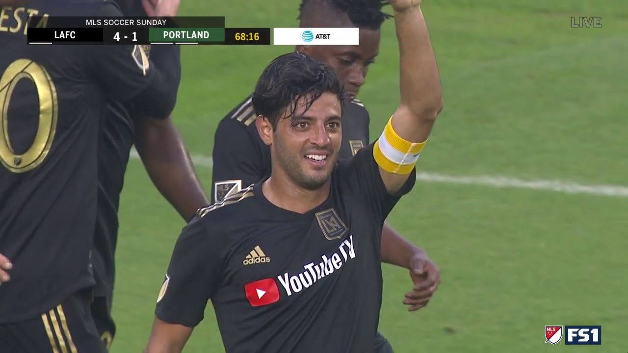pretty nice 07b00 6de63 GOAL Carlos Vela | LAFC 4 - 1 Portland Timbers