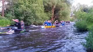 2018 Ausable River Canoe Marathon Start @ Penrods