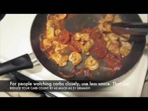 Healthy Chicken/Shrimp Cacciatore!!!