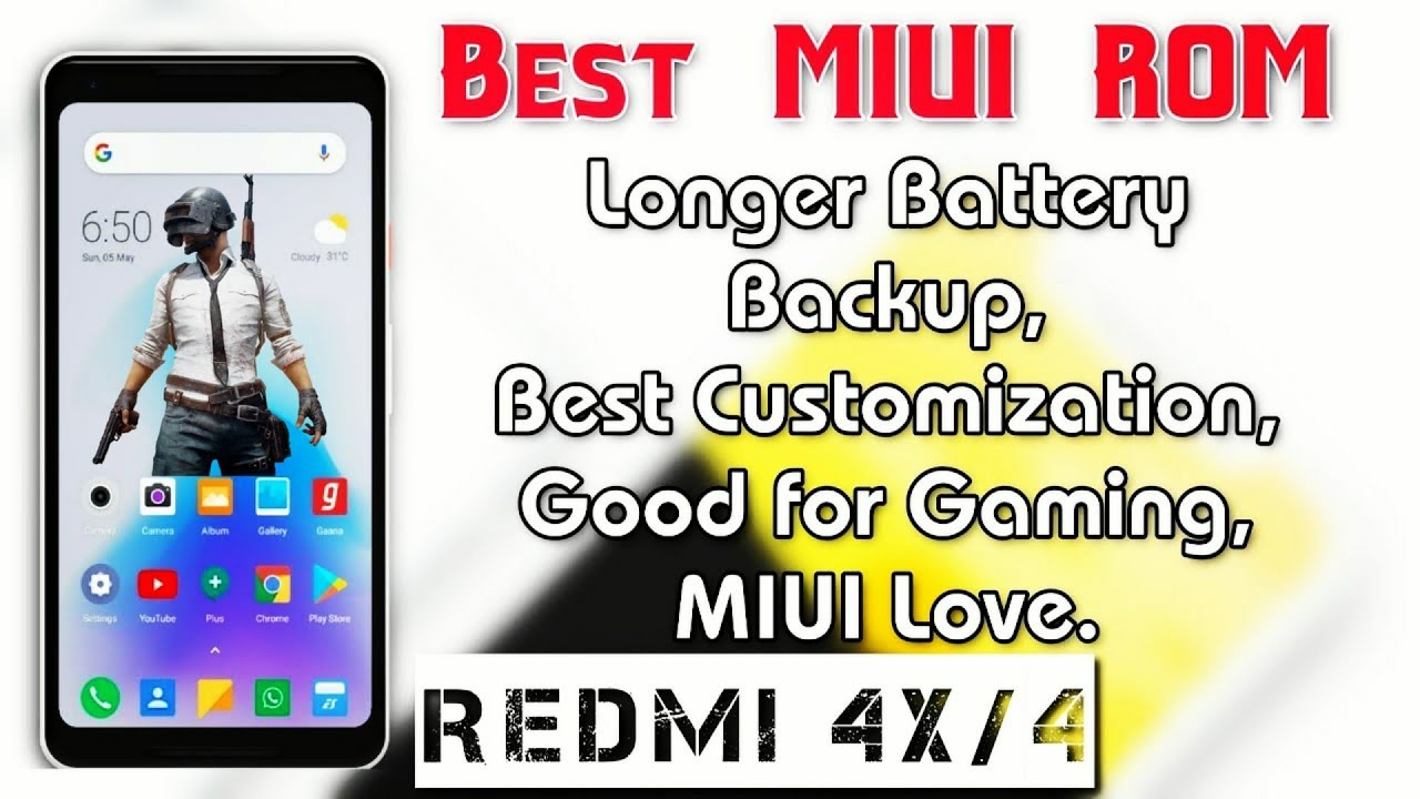 Best MIUI ROM for Redmi 4X/4 (santoni) Review | Longer battery backup and  Good gaming details