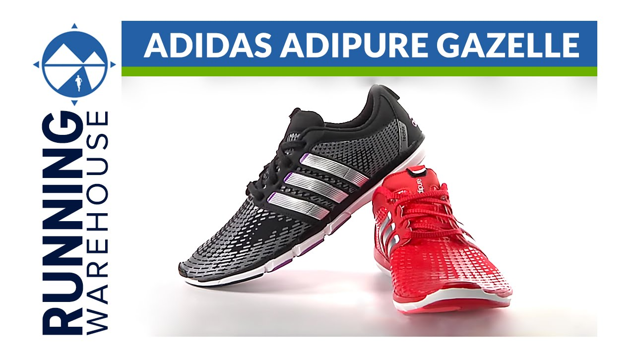 sale retailer 90f11 fd99b adidas adipure Gazelle Shoe Review - YouTube
