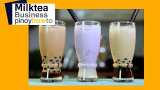 How to make Milktea | Pinoy How To
