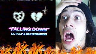 DUAS LENDAS ETERNAS 😔 Lil Peep & XXXTENTACION - Falling Down - REACTION