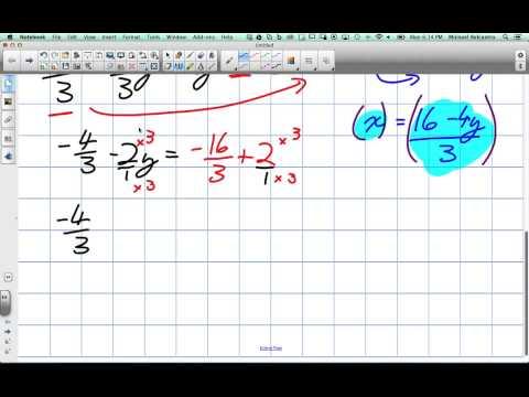 Math Algebra | Substitution Method & Elimination Method for Solving
