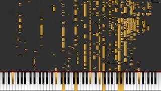 twenty one pilots: Pet Cheetah - Auditory Illusion (Piano Midi Cover) (Not Tutorial)