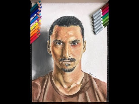 Zlatan Ibrahimovic Speed Drawing - SinArty
