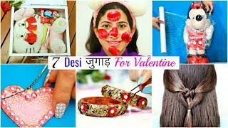 7 Desi जुगाड़ For Valentine's Day  - Life & Beauty Hacks | #Gifts #DIY #Fun #Sketch #Anaysa