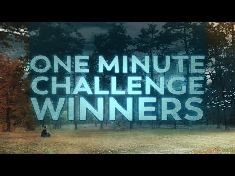 One Minute Challenge Winners