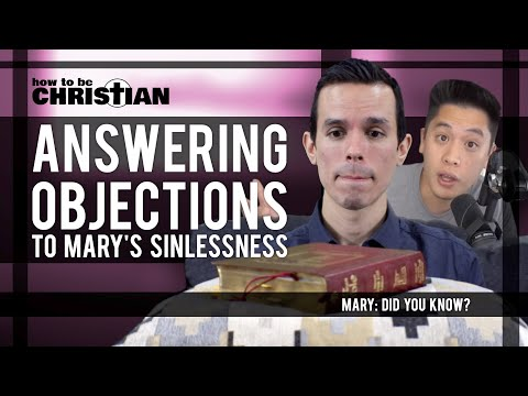MDYK: Answering Objections to Mary's Sinlessness