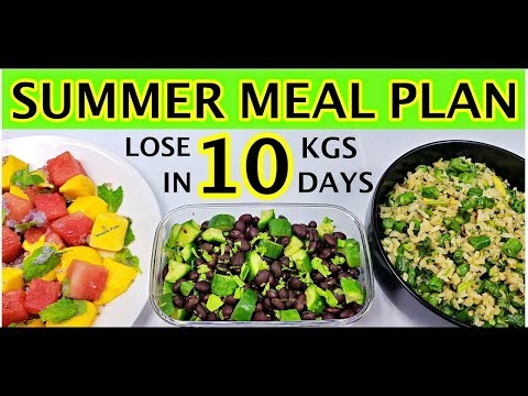 Summer Diet Plan | Summer Diet Plan For Weight Loss 2019 – How To Lose Weight 10Kg in 10 Days