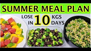 Summer Diet Plan | Summer Diet Plan For Weight Loss 2019 - How To Lose Weight 10Kg in 10 Days