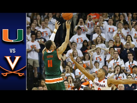 Miami vs. Virginia Men