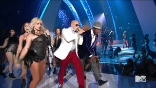 Pitbull Ft  Ne Yo & Nayer   Give Me Everything Live @ VMA 2011 720p