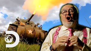 Restoring An Original Sherman Tank To Show Its Explosive Power! | Combat Dealers